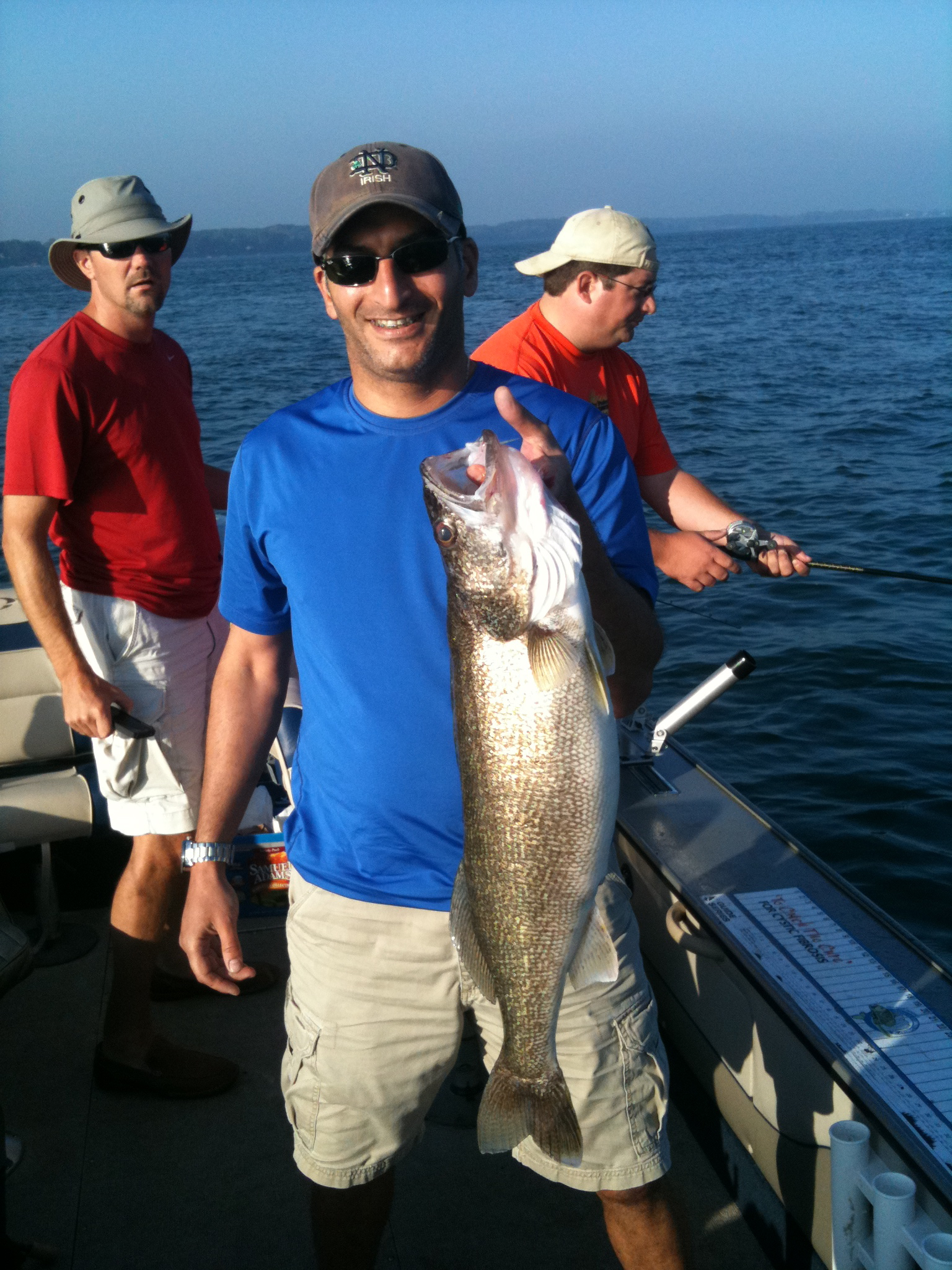 Lake erie lake ontario fishing charters salmon trout for Lake erie fishing charters